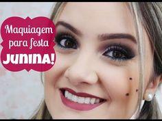 Assista esta dica sobre Maquiagem para Festa Junina! e muitas outras dicas de maquiagem no nosso vlog Dicas de Maquiagem.