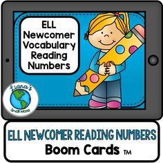 Does your ELL Newcomer need extra help learning number words in English? Here's some engaging vocabulary practice that coordinates with my ELL Newcomer Starter Pack Great for centers, intervention, or just extra practice, boom cards give the student the immediate feedback they need and also provide the teacher with important data. What are Boom Cards? •ENGAGING alternative to paper task cards •Provide immediate feedback •Gives teachers valuable data