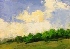 """""""Infactuation"""" Landscape by Deborah Taylor at www.dtaylorstidio.blogspot.com"""