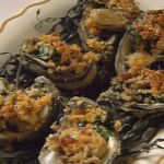 Oysters Gratin by Frank Brigtsen