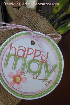 May Day free printable