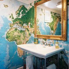 Uma dica para quem quer dar um toque de aventura na decoração! :)