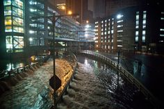 Super storm Sandy in NYC