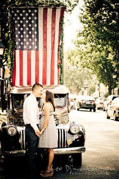 Brittany Oliver, fun candid engagement prewedding photo session Old Town Alexandria VA Washington DC | Leo Dj Photography