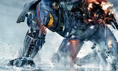 Fourth poster for Guillermo del Toro's Pacific Rim, starring Idris Elba, Charlie Hunnam and Rinko Kikuchi, Charlie Day and Ron Perlman Charlie Day, Idris Elba, Ron Perlman, Scott Eastwood, Charlie Hunnam, Pacific Rim Movie, Pacific Ocean, The Wolverine, Cinema Video
