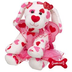 Heart Fairy Hugs-A-Plenty Puppy - Build-A-Bear Workshop US $37.00