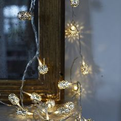 Moroccan-Style string of lights