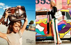 Marloes Horst for Elle France by Ben Watts | Fashion Gone Rogue: The Latest in Editorials and Campaigns