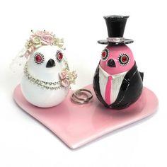 Pink Wedding Couple Birdies Romantic Decoration Gifts Set B00016