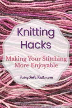 We can all use tips and tricks to make knitting and crocheting more enjoyable so here's some I've found. Safety Pin A safety pin attached inside each of your project bags can keep stitch marker handy whenever you need them. Weaving in Ends as you Knit or Crochet I'm an odd knitter and don't mind weaving in ends so I don't usually use this one, but I know most knitters and crocheters don't so here's a tip to help with that. Crocheting Knitting Felted Join This is another way to not have to…