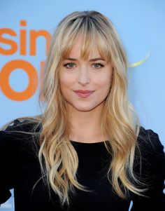 Dakota Johnson - I think she could definitely fit the role of Anastasia Steele from fifty shades!