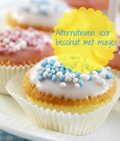 alternatieven beschuit met muisjes als kraamhapje om aan kraamvisite te trakteren. Lekker, makkelijk en origineel! Tips Baby Gender, Reveal Parties, Gender Reveal, Birthday Celebration, Kids Meals, Muffin, Baby Boy, Baby Shower, Breakfast