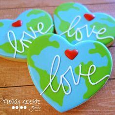 Love your Mother (Earth)! Happy Earth Day! ... #funkycookiestudio #jillfcs…