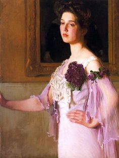 Lilla Cabot Perry (American artist, 1848-1933) - Portrait of Alice Perry