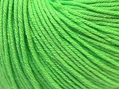 Baby Summer - Light Green: 8 x 50g/160m, SYW2, 60% Cotton 40% Acrylic Baby Yarn at Anjicat's Rocking Chair
