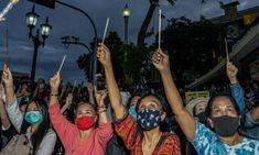 Thailand protesters openly criticise monarchy in Harry Potter-themed rally | World news | The Guardian Paul Chambers, Emergency Power, Head Of State, Constitution, Police Officer, The Guardian, Harry Potter, Bangkok, Rise Against