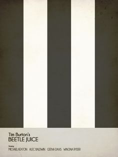 Tim Burton Posters by Aurelie Scour, via Behance