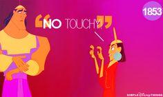 No touchy! Disney the Emperors new groove Walt Disney, Disney Magic, Disney Girls, Disney Love, Disney Stuff, Disney And Dreamworks, Disney Pixar, Disney Nerd, Disneyland