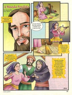 Jesus nos ama Bible Stories, Jesus Christ, Cartoon, Comics, Anime, Fictional Characters, Pasta, Identity In Christ, Bible Stories For Children