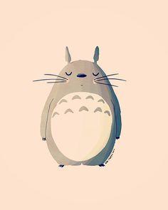 My Neighbor Totoro Illustration. Illustrations, Illustration Art, Manga Anime, Anime Art, Girls Anime, Ghibli Movies, My Neighbor Totoro, Animation, Hayao Miyazaki