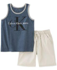 Calvin Klein 2 Piece Short Set