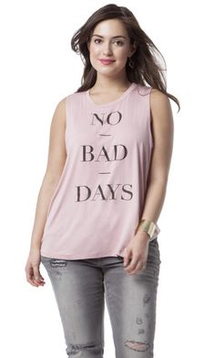 No Bad Days Muscle Tank