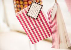 Sweetie Bags Pretty Marquee Wedding http://www.kategrayphotography.com/