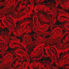 Florenza Polyester Print 3 Red 150cm