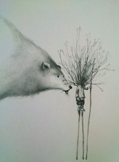 Rebecca Dautremer #Art #Illustration #Book #RebeccaDautremer