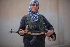 YPJ fighter (Female Kurdish Fighter) in Kobane linked to this article http://www.newsweek.com/2014/10/24/kobane-diary-four-days-inside-city-keeping-incredible-and-unprecedented-resistance-277509.html