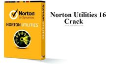 Norton Utilities 16 Crack And Activation Code Free Download from here. Norton is the best antivirus program to help your PC against viruses.