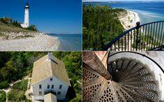 South Manitou Island, Lake Michigan  So beautiful :)