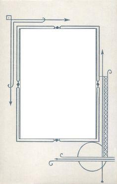 Art Deco | ... and Design » Blog Archive » September Freebie: Art Deco Mat Frame