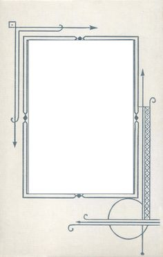 Art Deco | ... and Design » Blog Archive » Art Deco Mat Frame