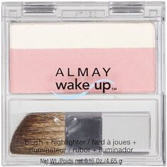 Almay WakeUp Blush  HighlighterPink010 Pack of 2 -- Click image to review more details.