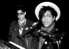 Prince 30 Years in Pictures — Prince and Dr. Fink