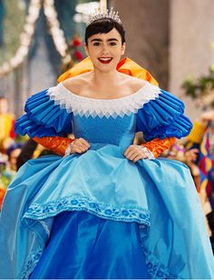The Most Memorable Movie Princesses: Mirror, Mirror's Snow White http://news.instyle.com/photo-gallery/?postgallery=114355#