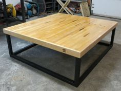 Midland Point Woodshop's Bowling Alley Coffee Table available at One of a Kind Christmas Show 2013