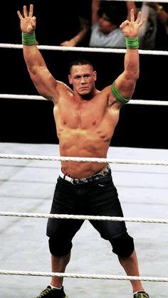 John Cena Wrestling, Wrestling Superstars, I'm Happy, Cute Guys, Gym Motivation, Love Him, Evolution, Goals, Sports