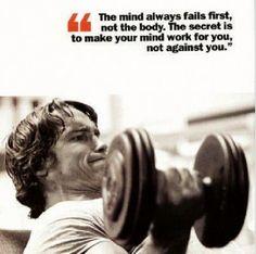 Arnold Gym Motivatio
