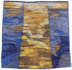 Carol Naylor Textile Artist Sea divided Carol Naylor interview: The best second best