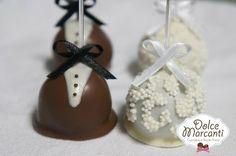 Cakepop Noivinhos - Dolce Marcanti - http://dolcemarcanti.blogspot.com/