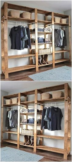 provides style inspiration for hard-working reach-in closet, commonly found in hallways, kids' rooms and bedrooms.