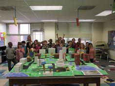 Ecoff Elementary builds Box City!