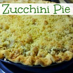 Keeping Up With Kelsey: Zucchini Pie Recipe