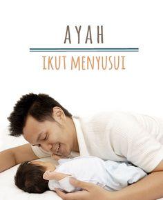 Ayah Ikut Menyusui :: Breast-feeding Tips for Dads :: Baby Klik untuk info lengkap mengenai bantuan Ayah dalam menyusui