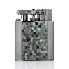 Fancy - Mosaic Turbo Lighter by Alfred Dunhill/At over$700 dollars, this is a functional piece of art work