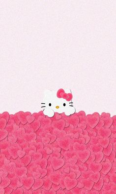 Hello Kitty Pink Love iPhone Wallpaper Home Screen