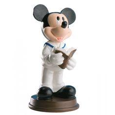 Figura de Mickey para la tarta de primera comunión