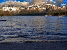 Jackson Lake Boating in Grand Teton National Park by Dan Sproul